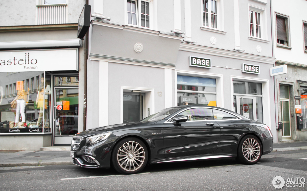 Mercedes benz s 65 amg coup c217 11 august 2014 for Mercedes benz 65