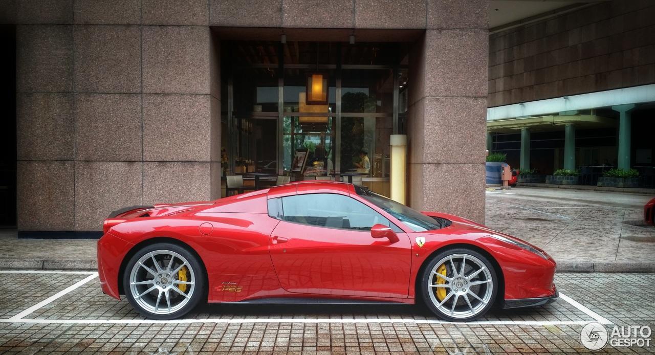 Ferrari 458 Spider Vorsteiner 12 August 2014 Autogespot