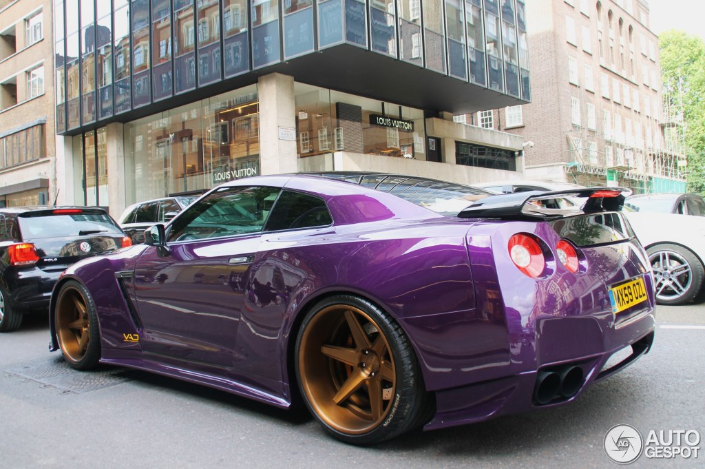 Nissan Gt R Vad Widebody 12 August 2014 Autogespot
