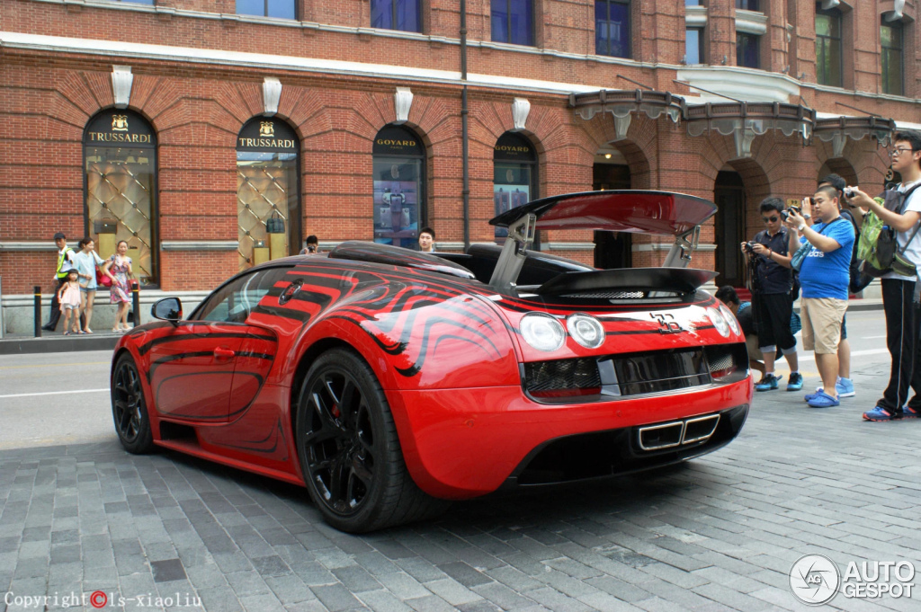 bugatti veyron 16 4 grand sport vitesse l 39 or rouge 14 ao t 2014 autogespot. Black Bedroom Furniture Sets. Home Design Ideas