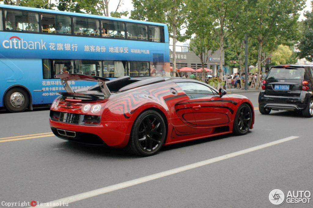 bugatti veyron 16 4 grand sport vitesse l 39 or rouge 14 august 2014 aut. Black Bedroom Furniture Sets. Home Design Ideas