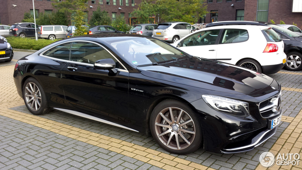 2017 C63 Amg Coupe Price >> Mercedes-Benz S 63 AMG Coupé C217 - 15 augustus 2014 ...