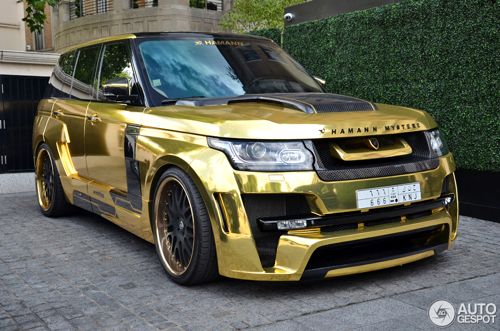 Land Rover Hamann Range Rover Myst 232 Re 16 August 2014