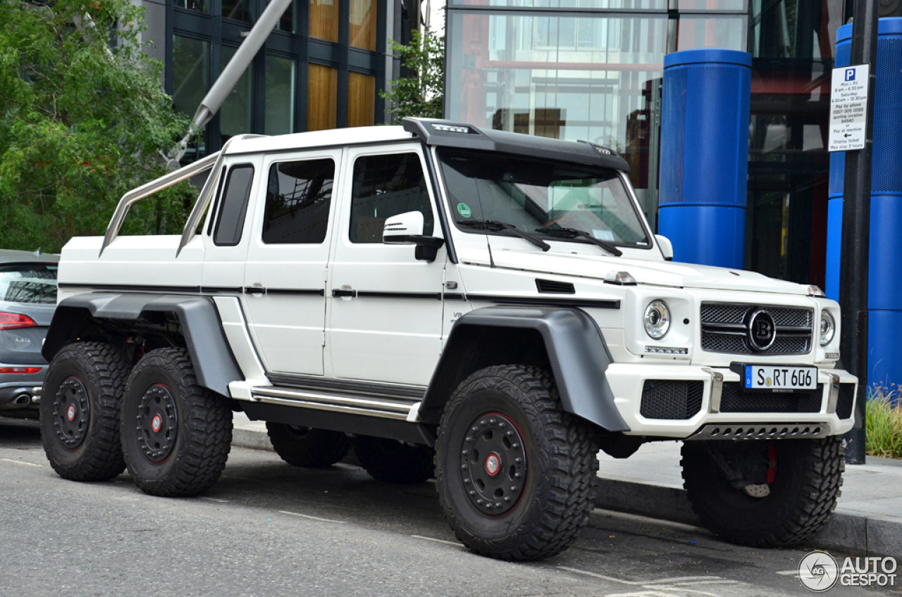 MercedesBenz Brabus B63S 700 6x6  16 August 2014  Autogespot