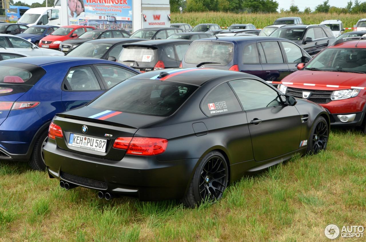 BMW M3 E92 Coupé DTM Champion Edition - 20 August 2014 - Autogespot