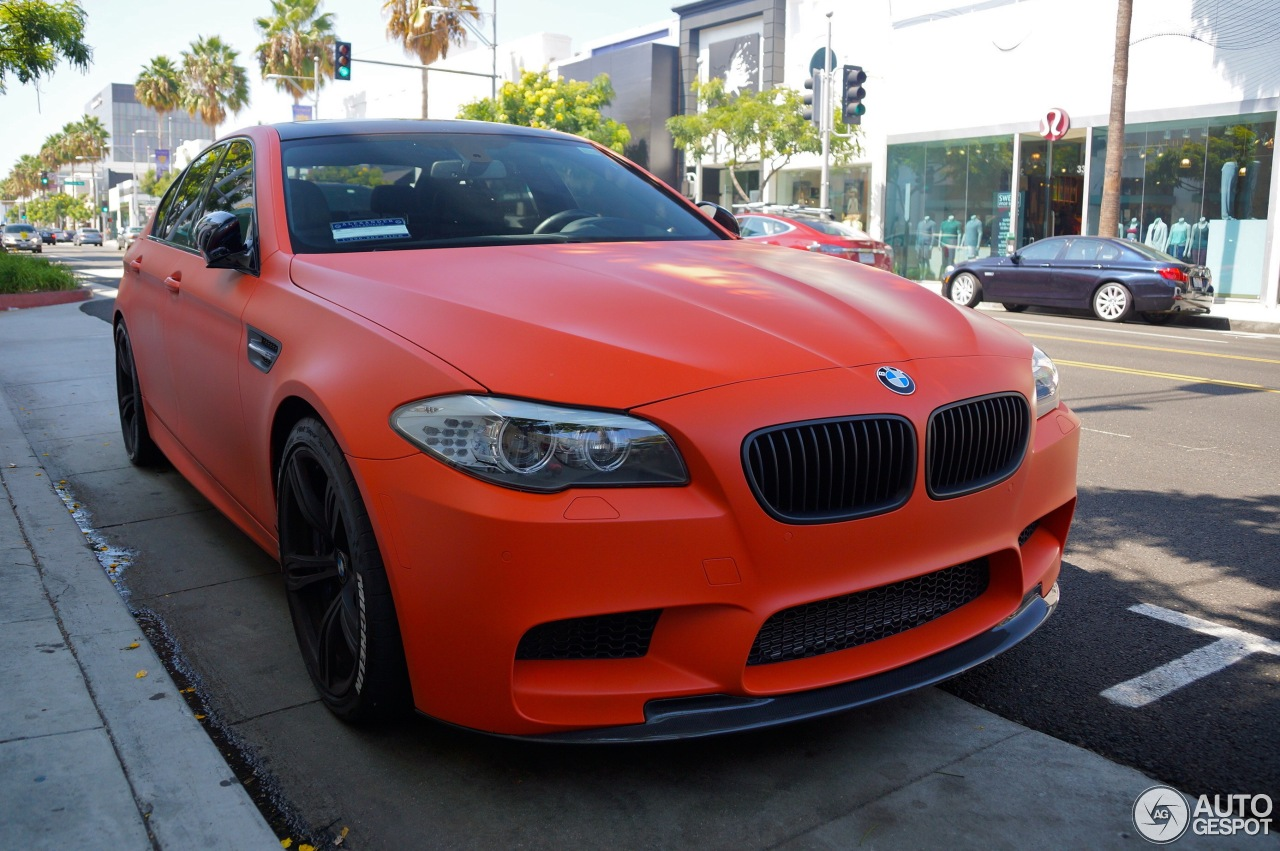 BMW M5 F10 2011 ECU Tuning Group - 21 August 2014 - Autogespot