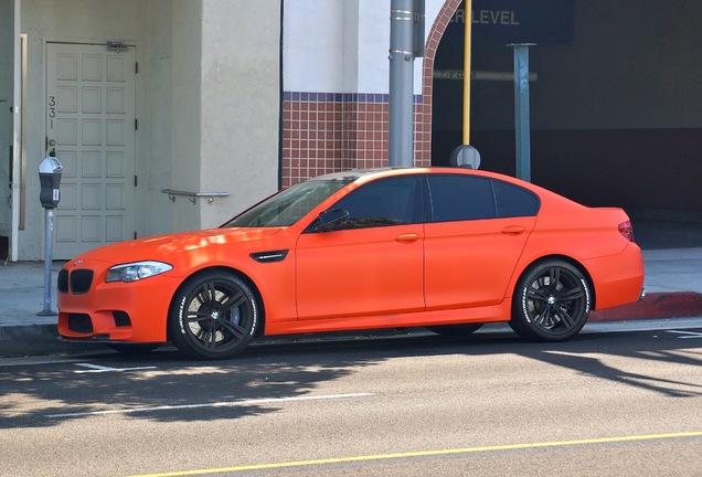 BMW M5 F10 2011 ECU Tuning Group