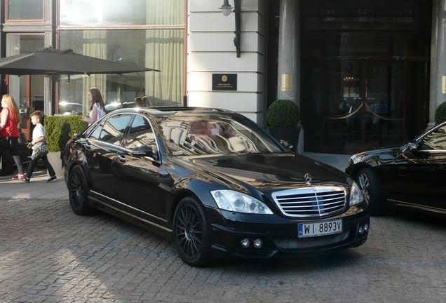 Mercedes-Benz S 63 AMG W221 Wald Black Bison