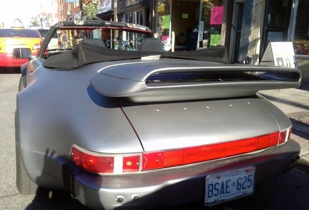 Porsche 930 Slantnose Convertible Custom Widebody
