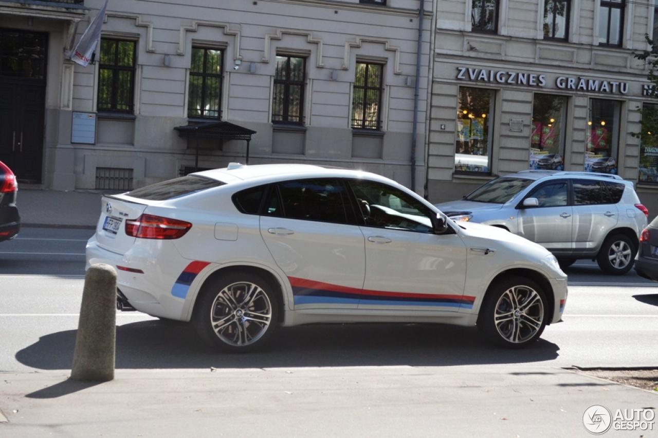 BMW X6 M Design Edition 2013 innenraum1