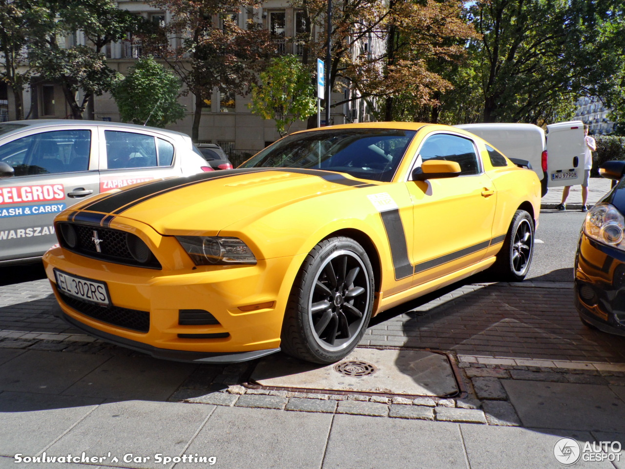Ford Mustang Boss 302 2013 - 4 september 2014