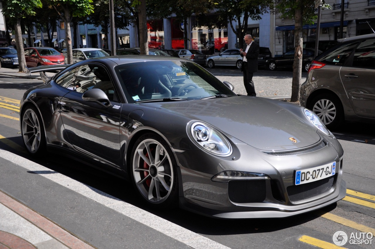 porsche 991 gt3 4 september 2014 autogespot. Black Bedroom Furniture Sets. Home Design Ideas
