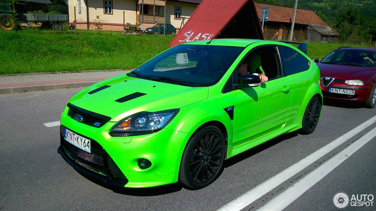 ford focus rs 2009 5 september 2014 autogespot. Black Bedroom Furniture Sets. Home Design Ideas