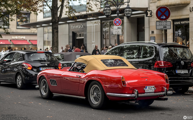 Ferrari 250 Gt California >> Ferrari 250 Gt California Spider 7 September 2014 Autogespot