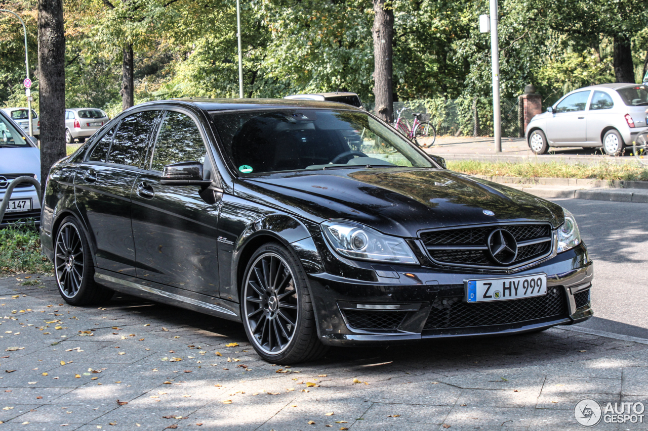mercedes benz c 63 amg w204 2012 9 september 2014 autogespot. Black Bedroom Furniture Sets. Home Design Ideas