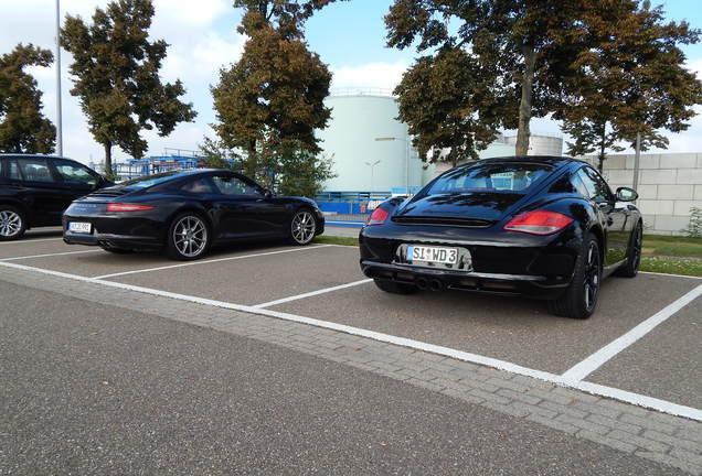Porsche Cayman S MkII Black Edition