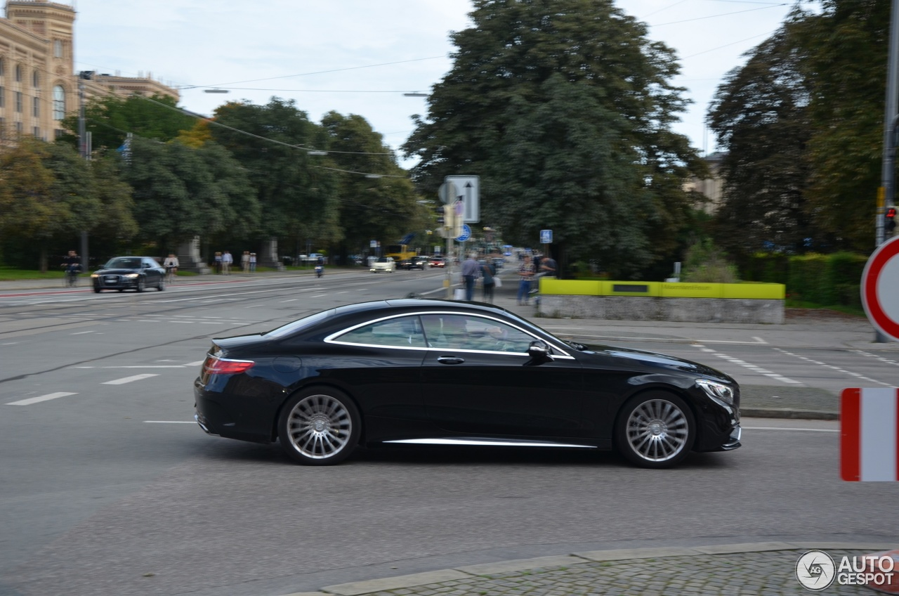 Mercedes benz s 65 amg coup c217 21 september 2014 for 2014 mercedes benz s65 amg coupe