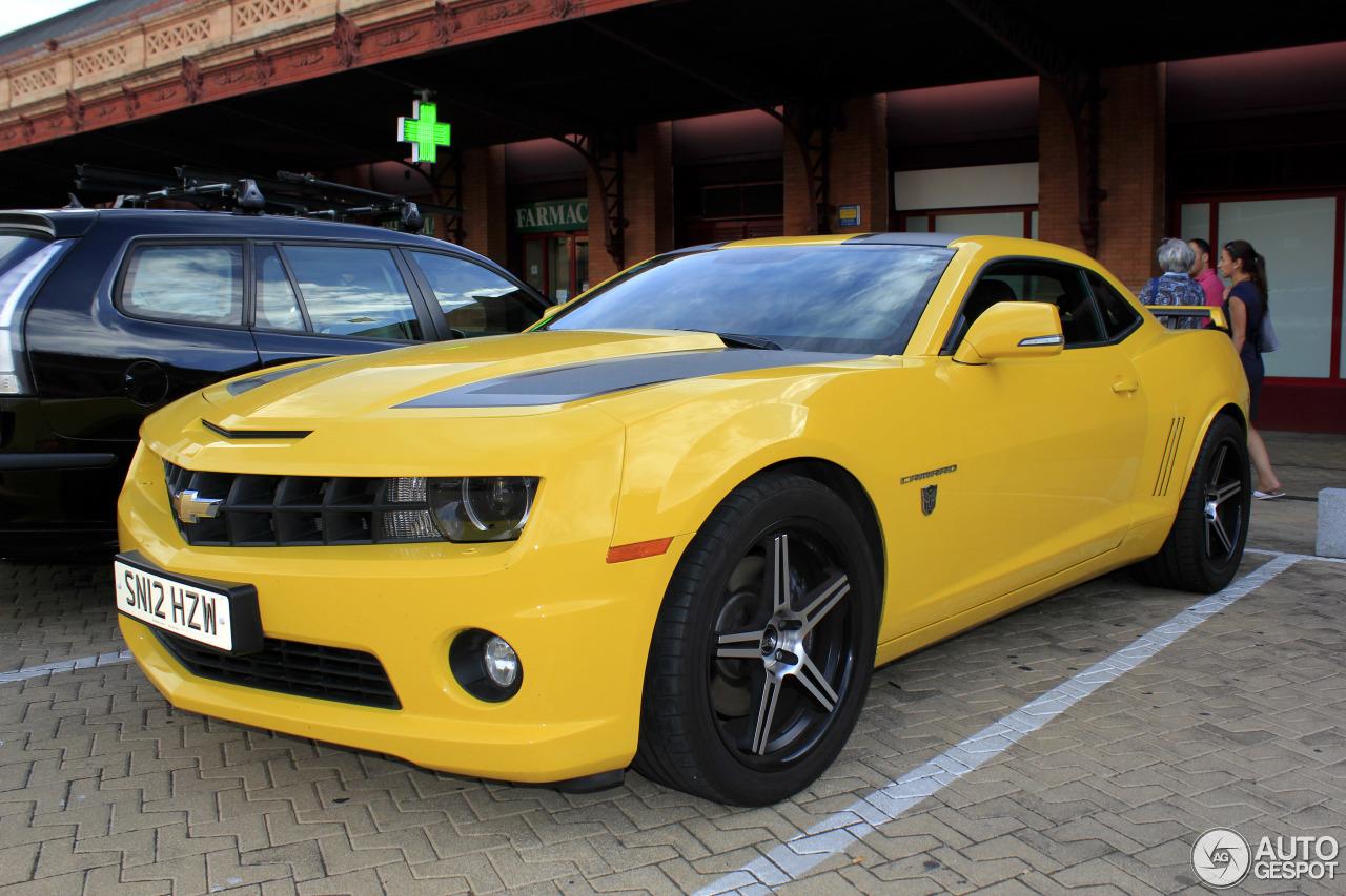 Chevrolet Camaro Ss Transformers Edition 2012 22