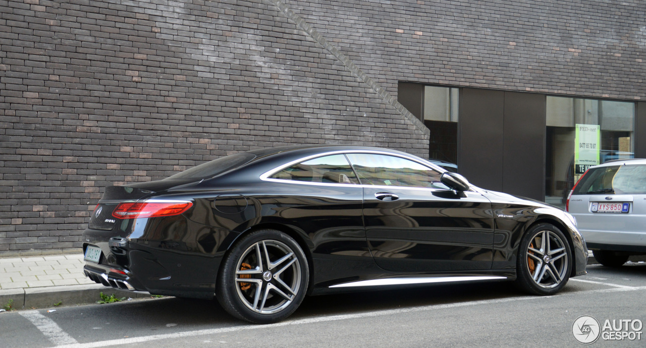Mercedes benz s 63 amg coup c217 4 october 2014 for Mercedes benz s coupe 2014