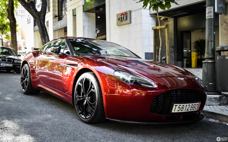 Aston Martin V Zagato October Autogespot - Aston martin v12 zagato
