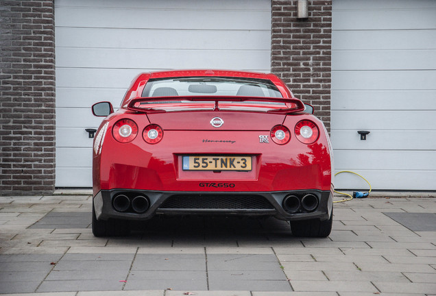 Nissan GT-R Hennessey HPE650