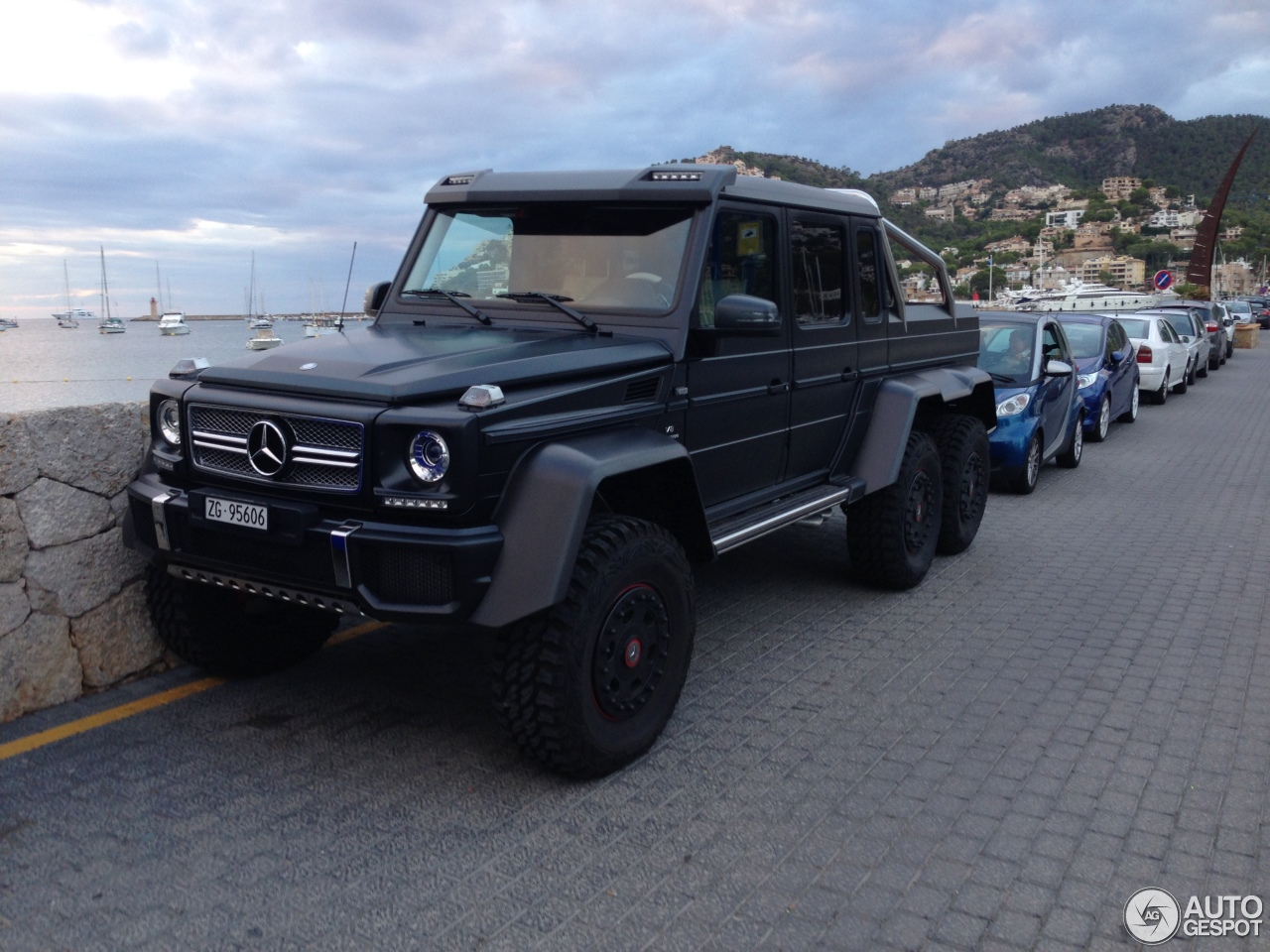 Mercedes-Benz G 63 AMG 6x6 - 17 October 2014 - Autogespot