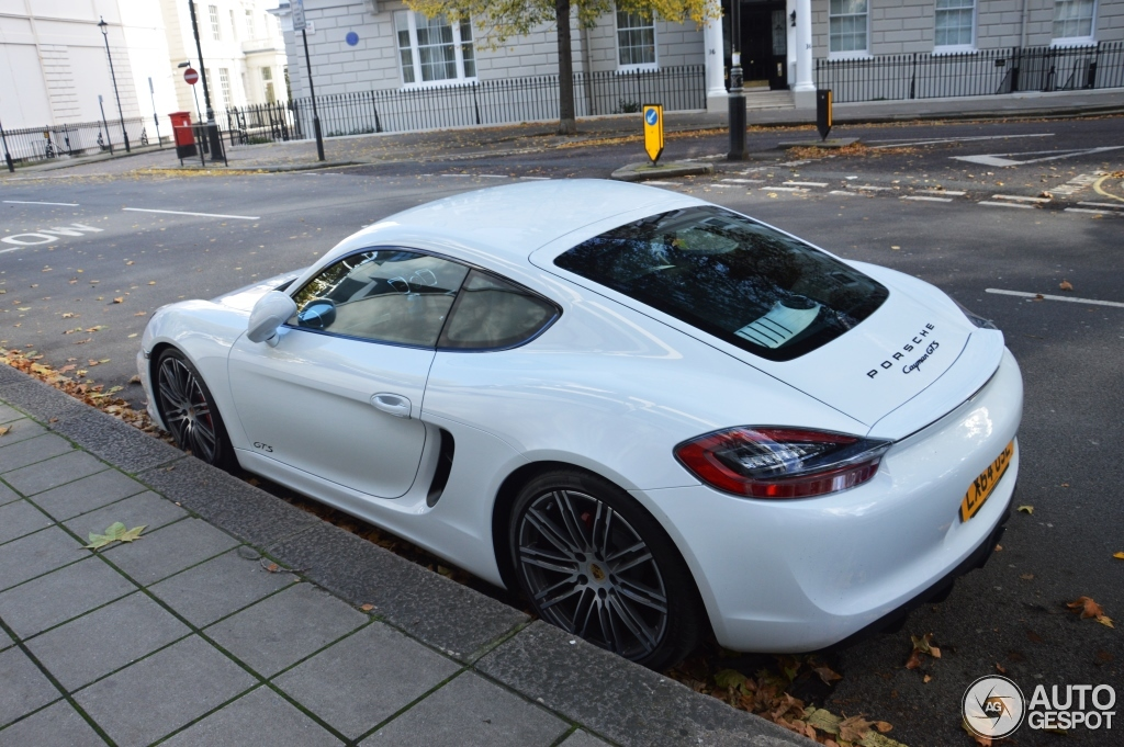 Porsche 981 Cayman GTS - 21 octobre 2014 - Autogespot