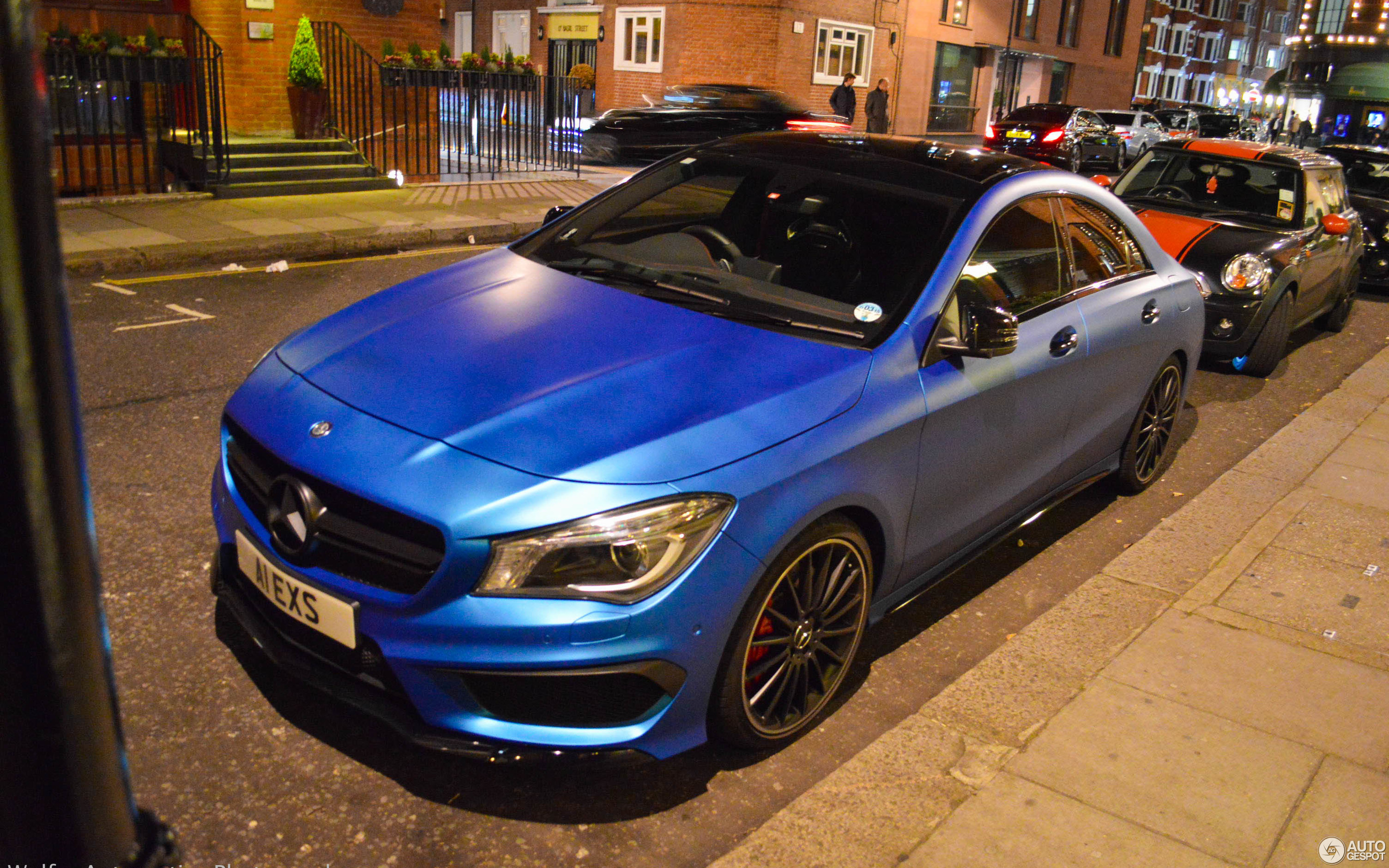 Mercedes-Benz CLA 45 AMG C117 - 27 October 2014 - Autogespot
