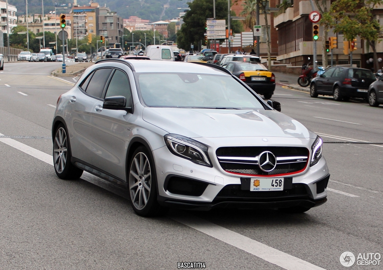 Mercedes benz gla 45 amg x156 28 october 2014 autogespot for Mercedes benz gla 45 amg
