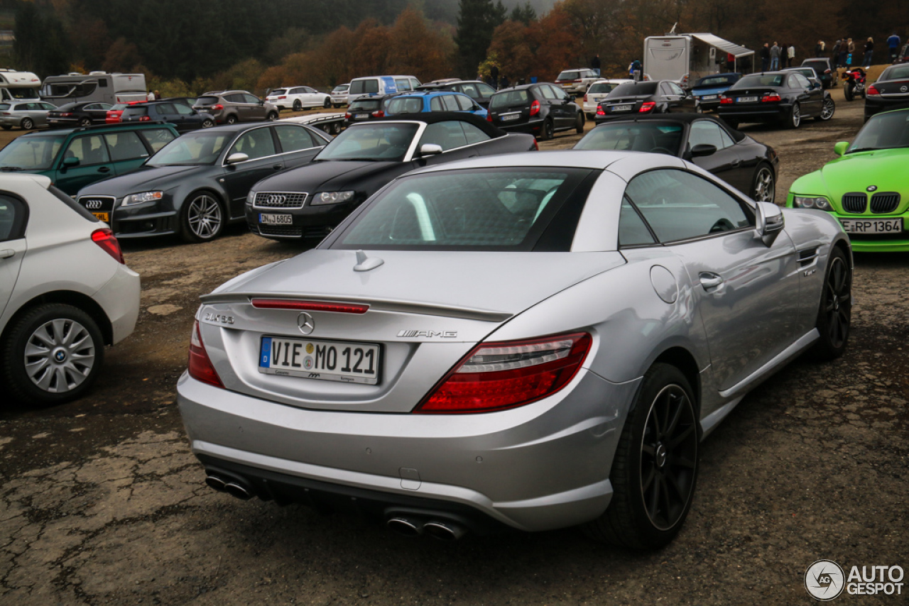 mercedes benz slk 55 amg r172 2 november 2014 autogespot. Black Bedroom Furniture Sets. Home Design Ideas