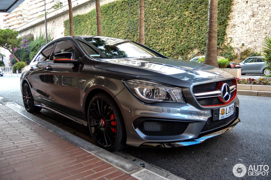 Mercedes Benz Cla 45 Amg Edition 1 C117 4 November 2014