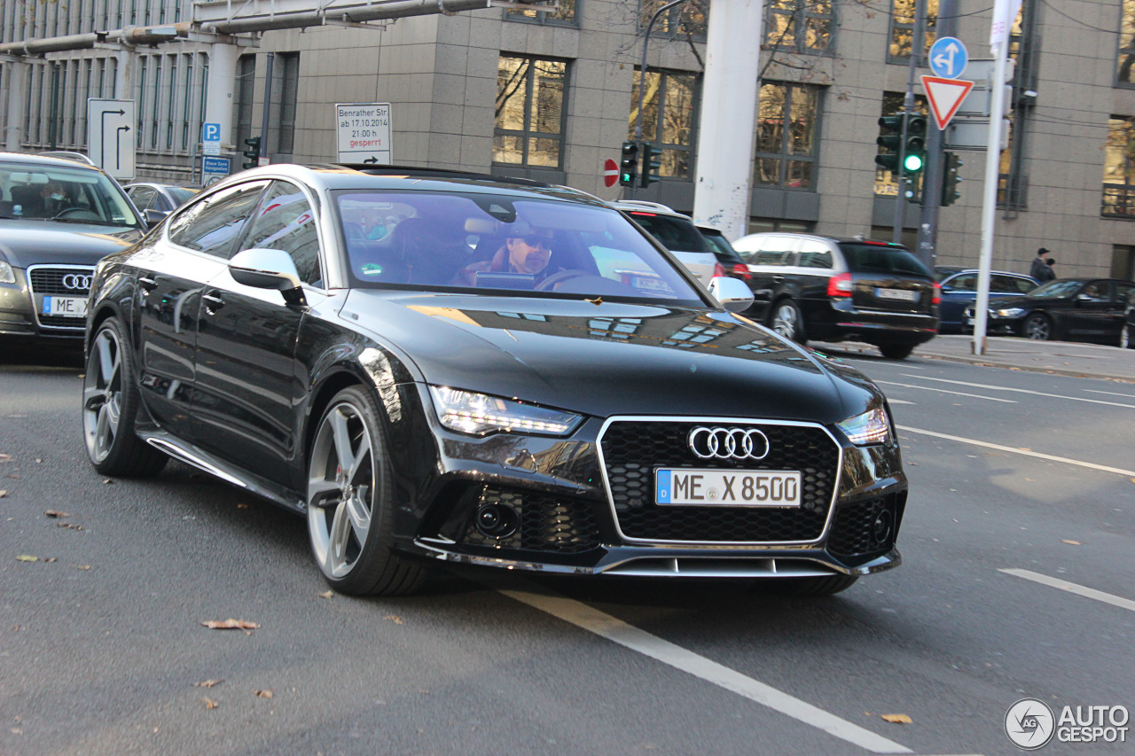 audi rs7 sportback 2015 10 novembre 2014 autogespot. Black Bedroom Furniture Sets. Home Design Ideas