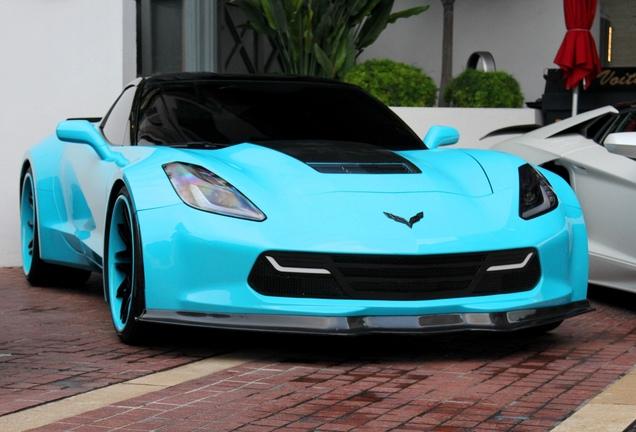 Chevrolet Corvette C7 Stingray Office-K