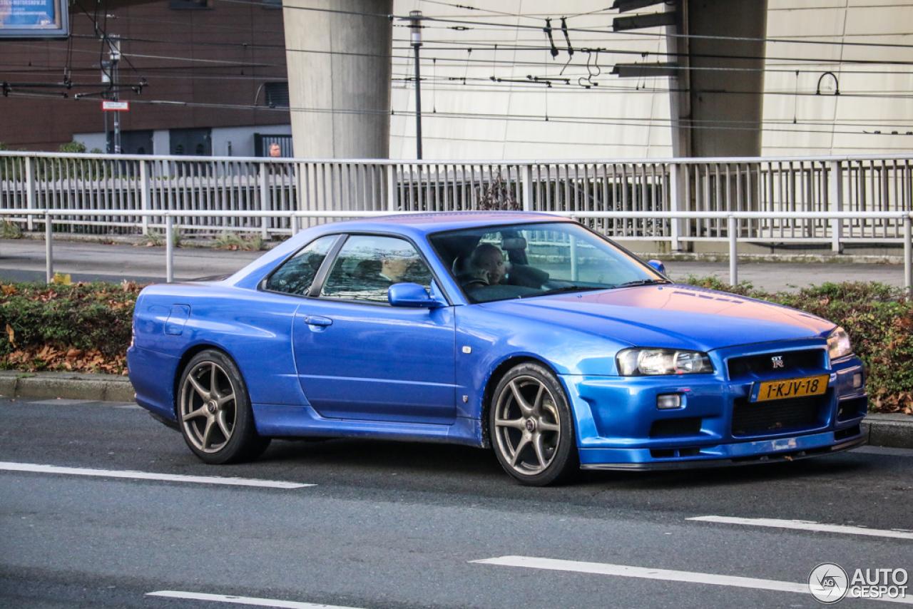 Nissan Skyline R34 Gt R 28 November 2014 Autogespot