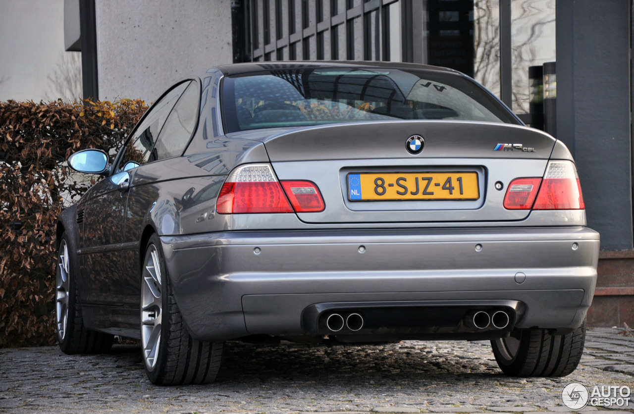 BMW M3 CSL - 29 November 2014 - Autogespot