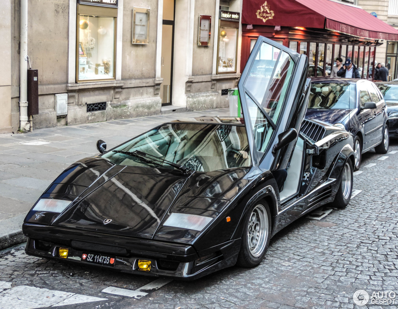 lamborghini countach 25th anniversary 1 dcembre 2014 autogespot. Black Bedroom Furniture Sets. Home Design Ideas