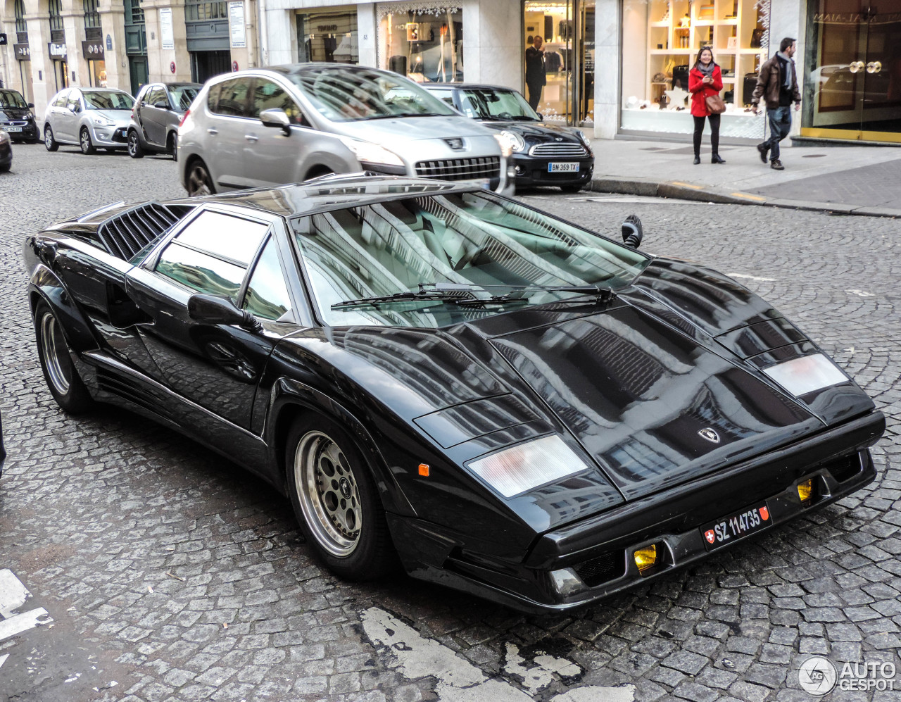 Lamborghini Countach 25th Anniversary 1 December 2014
