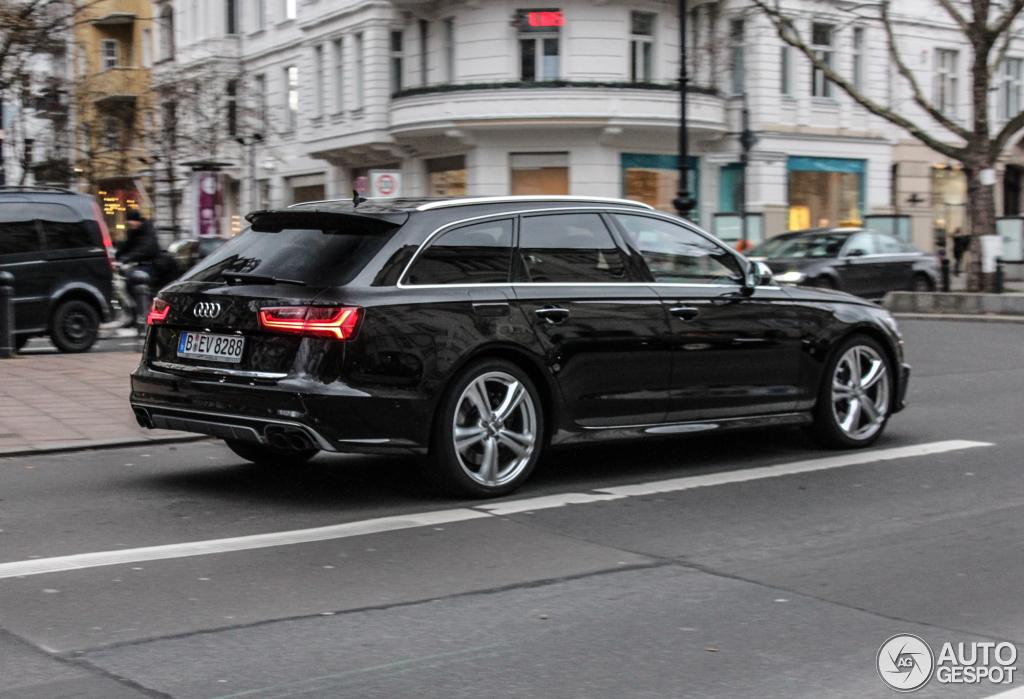 Audi S6 Avant C7 2015 21 Dcembre 2014 Autogespot