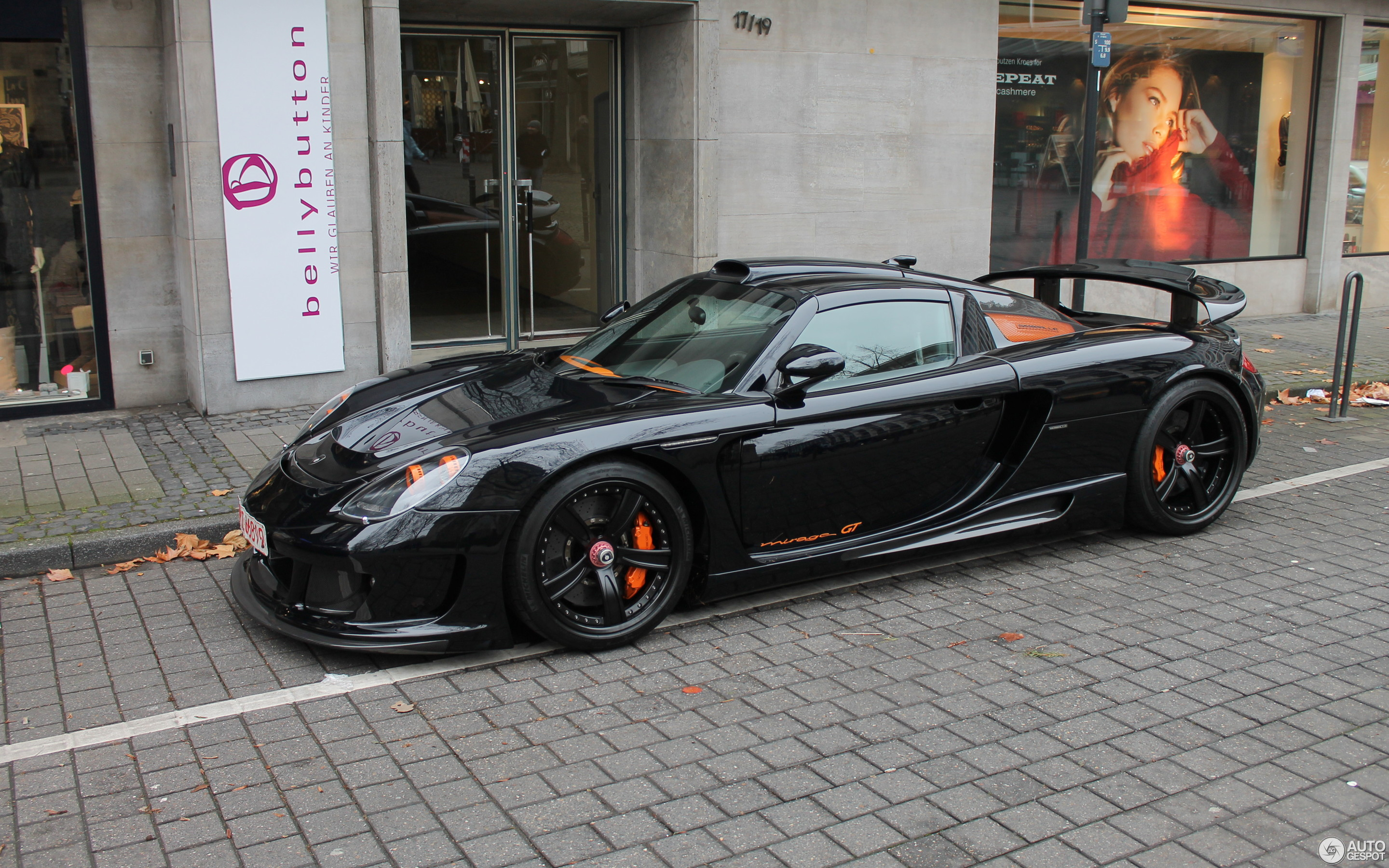 Gemballa Mirage GT Black Edition
