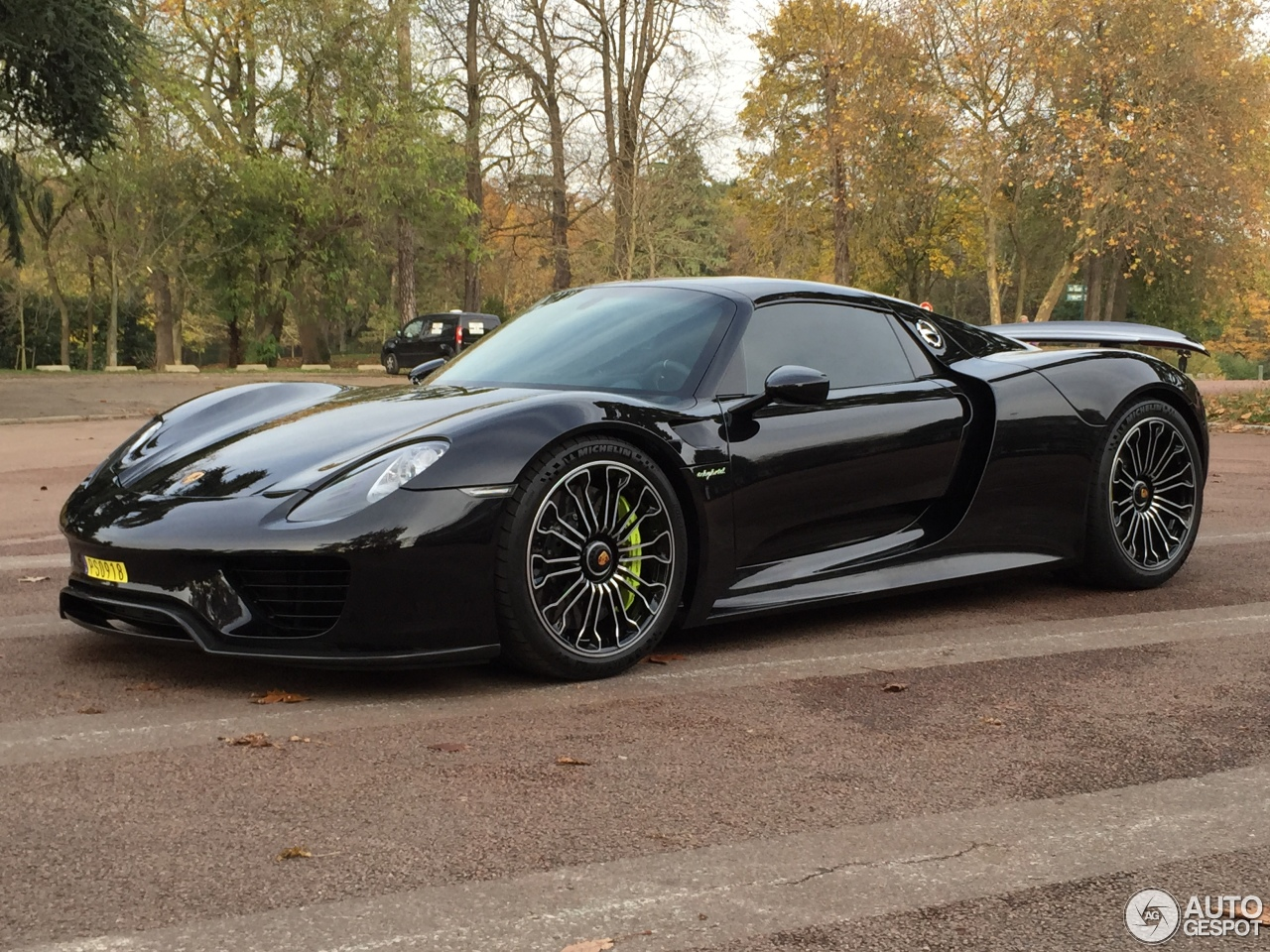 porsche 918 spyder 22 december 2014 autogespot. Black Bedroom Furniture Sets. Home Design Ideas